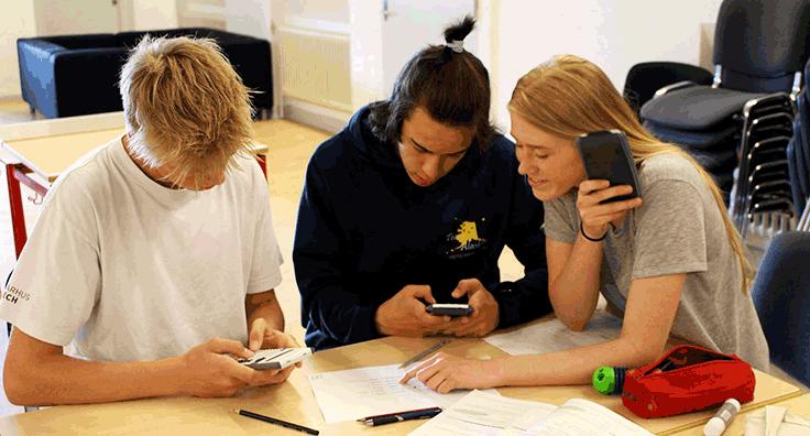 Undervisning er prioriteret på efterskolen