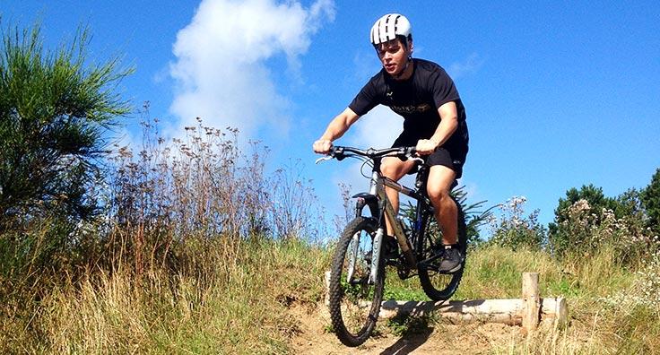 Mountainbike, MTB, en del af adventurelinjen på efterskolen