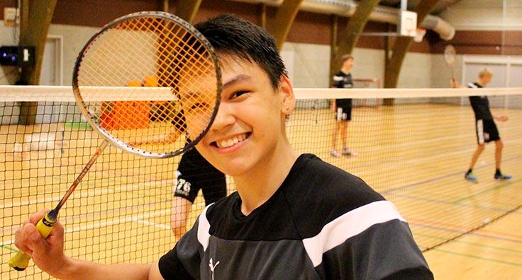God stemning på badminton linjen