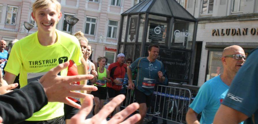 Eleverne til Aarhus City Halvmarathon