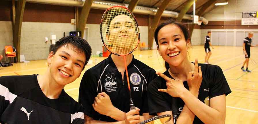 DM i badminton - eleverne er klar