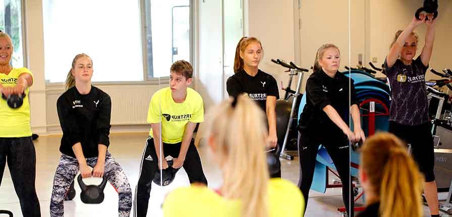 ny fitness-lærer