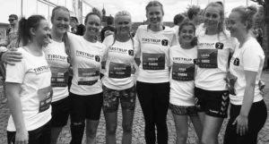 piger løb halvmaraton