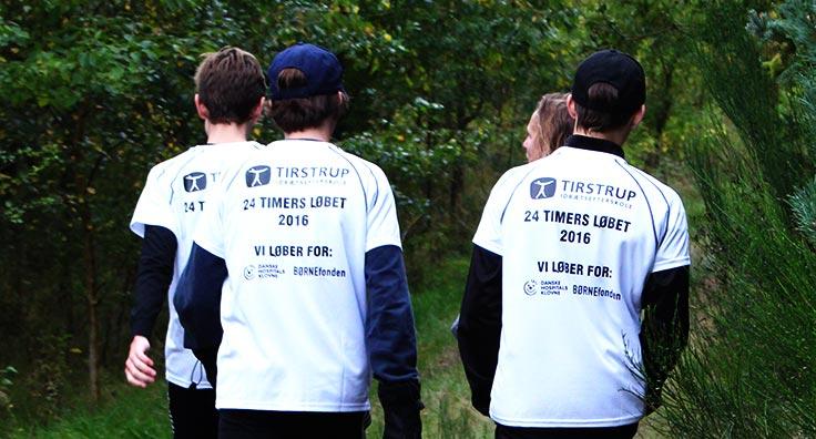 indsamling til 24-timers løbet
