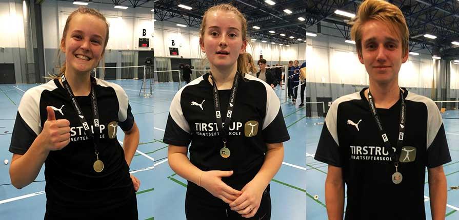 Tirstrup Idrætsefterskole til DM i badminton