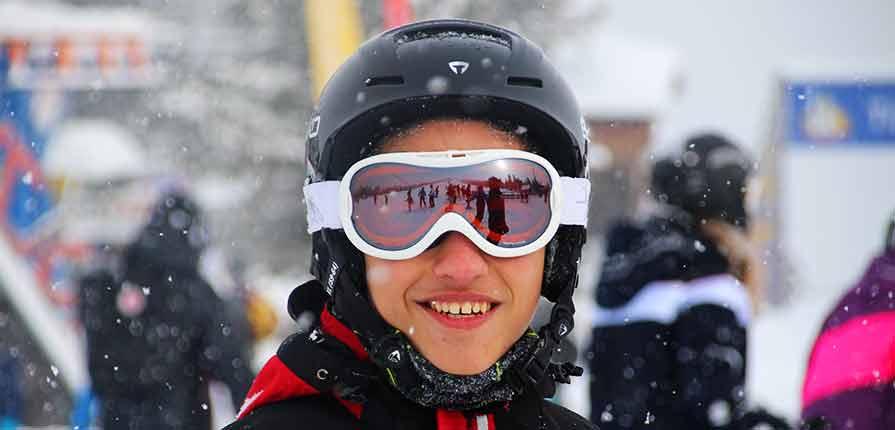 Efterskolen på ski i Østrig