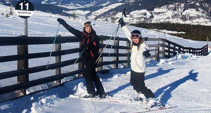 skitur til Østrig med efterskolen