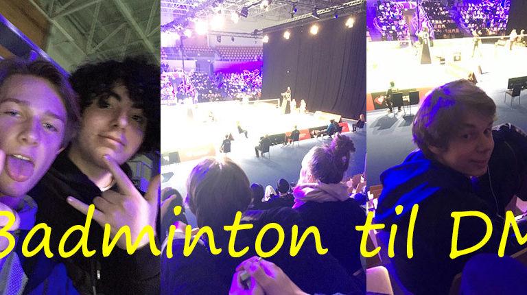 Badminton til DM
