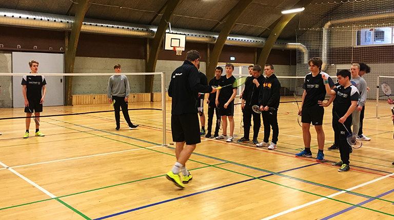 Badmintonfitness