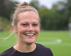 Marie Louise Bundgaard pigefodbold Tirstrup efterskole