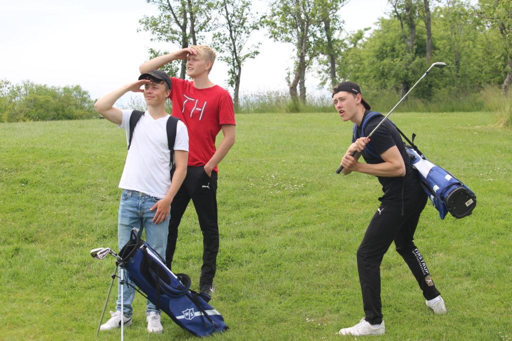 Golf på Tirstrup Idrætsefterskole